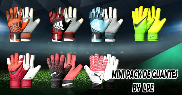 Mini Glove Pack 17-18 PES 2017
