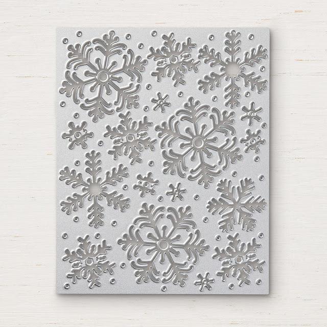 Poinçon Thinlits Tempête de neige Stampin' Up!