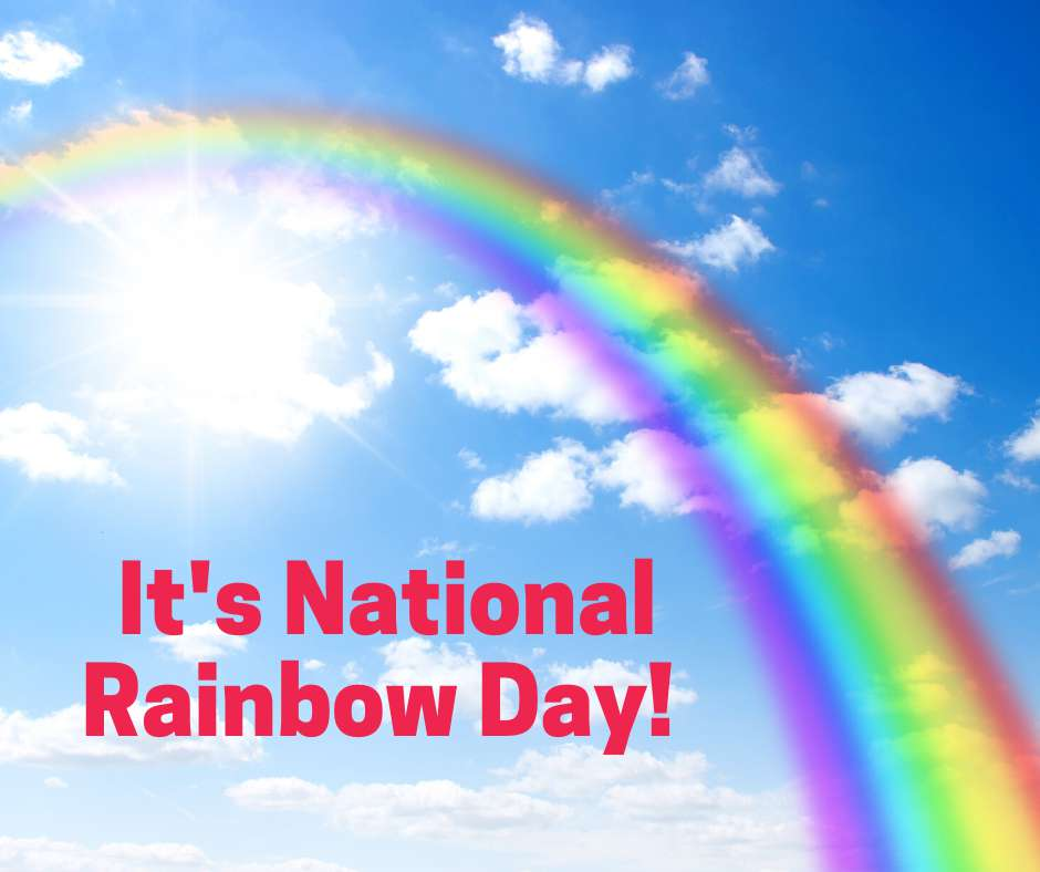 National Find a Rainbow Day Wishes Unique Image