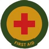 First Aid trail badge