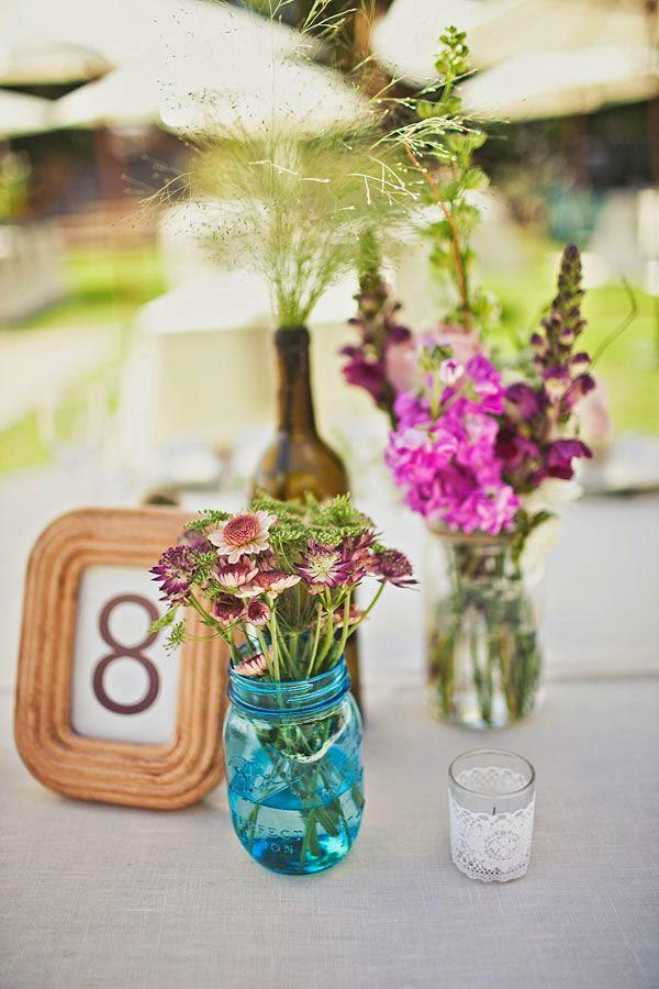 27 centros de mesa para bodas consigue una boda de cuento - Centros para decorar mesas ...