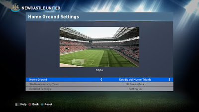 PES 2016 Fix v1 Home Ground Stadiums For PTE 4.1 by sami ze