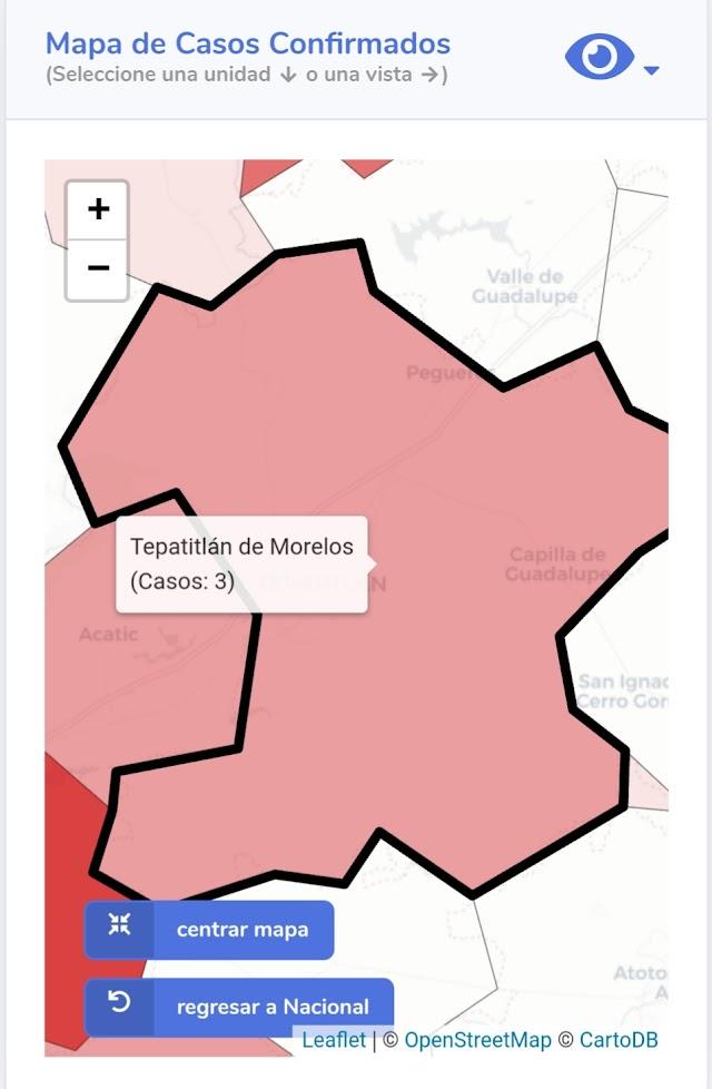 Nuevo caso de Covid-19 en Tepatitlán