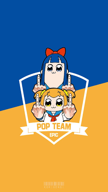 pop team epic wallpaper