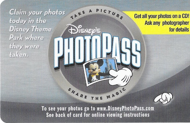 Disney's Photopass Card Share the Magic