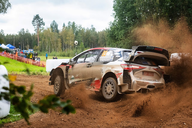 Rally Estonia Rally Car Photo