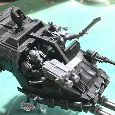 Dark Angels Ravenwing Talonmaster WIP
