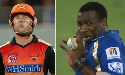 warner pollard funny moment IPL