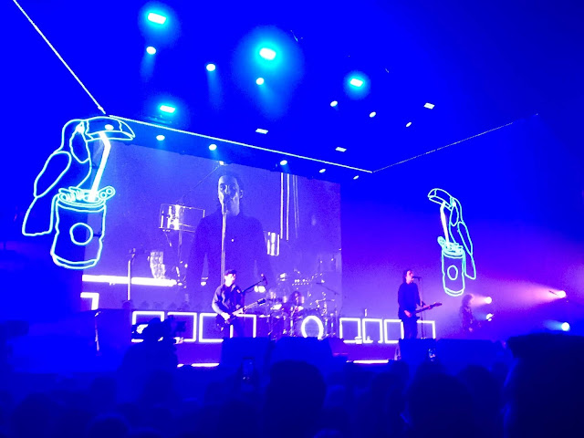 Catfish & The Bottlemen performing in the Newcastle Utilita Arena