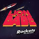 LION BABE - Rockets (feat. Moe Moks) - Single Cover