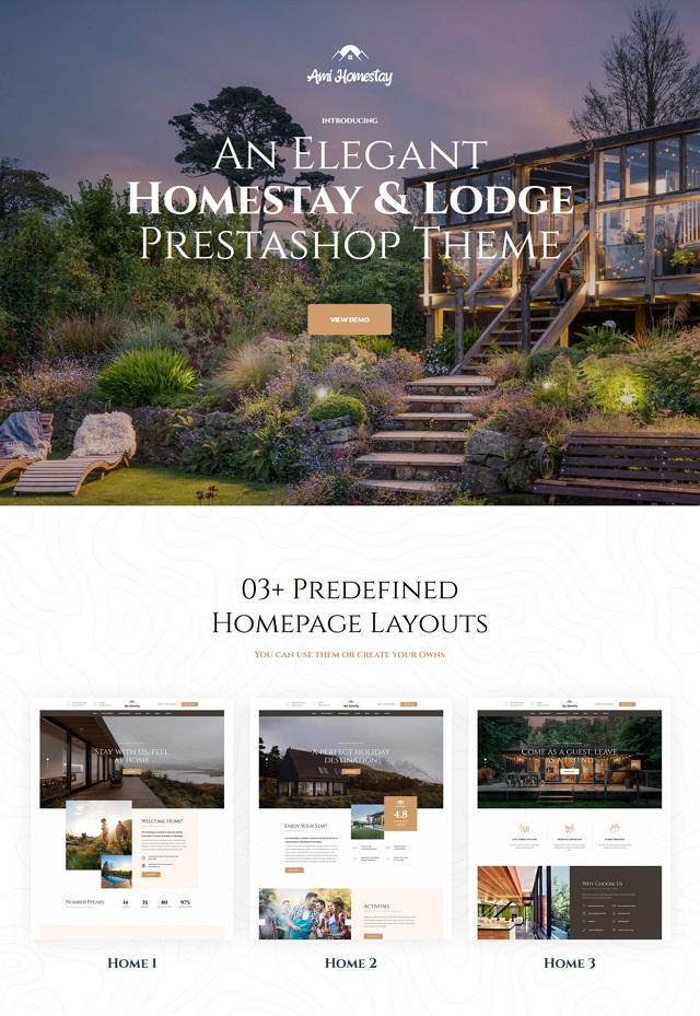 Best Hotel Booking Service Prestashop Theme
