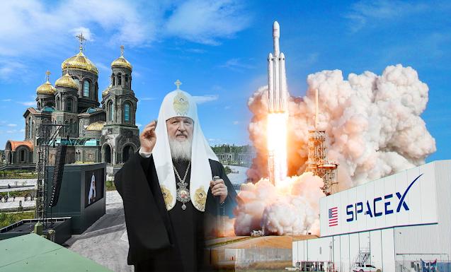 Доигрались: Америка вытесняет Россию из космоса, а мы в угоду РПЦ строим храмы