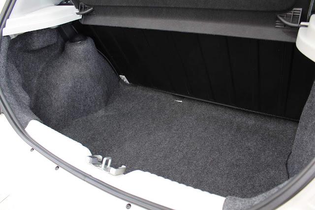 Novo VW Gol 2019 - porta-malas