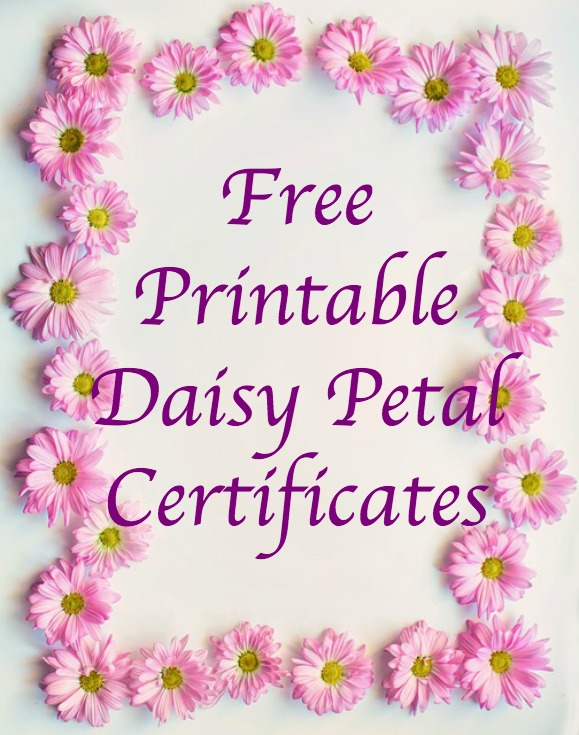 picture regarding Girl Scout Certificates Printable Free called Daisy Troop Pursuits for Leaders: No cost Printable Daisy
