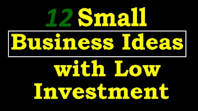 12 business ideas with low investment