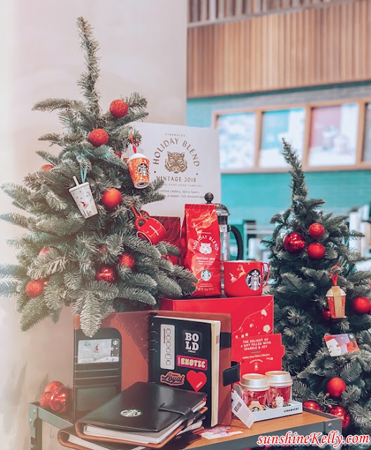 The Blend Is The Magic, Starbucks 2018 Holiday, Starbucks® Holiday gift cards, Starbucks Malaysia, Starbucks® 2018 Holiday