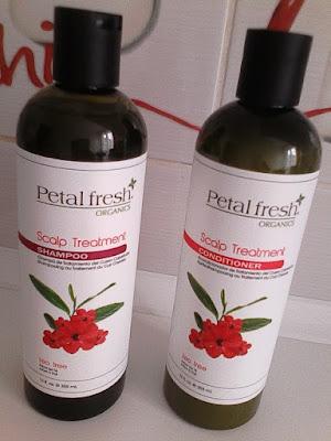 Petal Fresh Organics, odżywczo-anstyseptyczny szampon i odżywka
