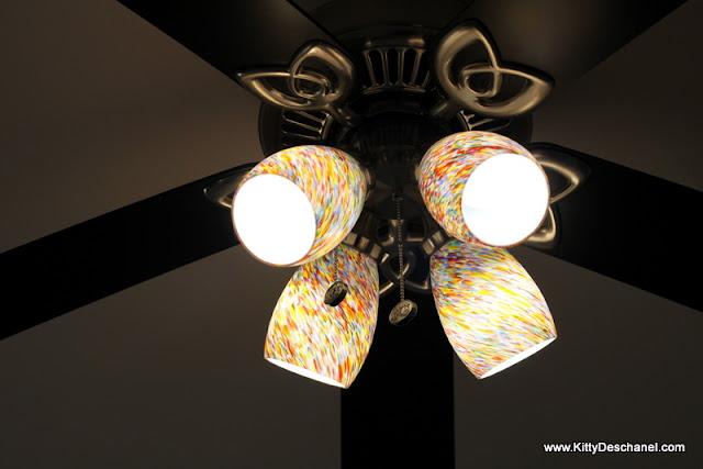how to upcycle a light fixture
