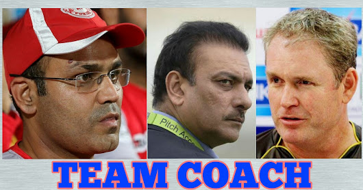 who will became indian cricket team next coach