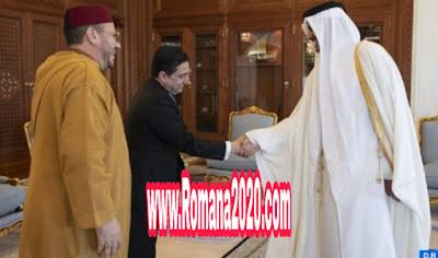 أخبار المغرب أمير دولة قطر يستقبل مستشار الملك فؤاد عالي الهمة