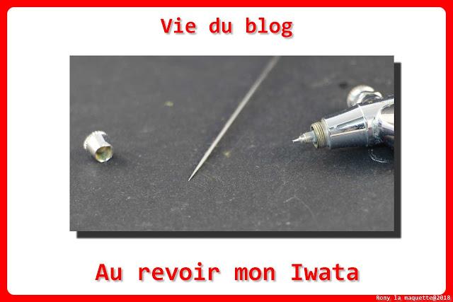 Vie du blog, Au revoir mon Iwata