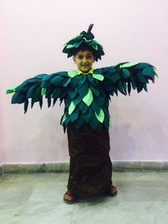Ideas para un disfraz de árbol