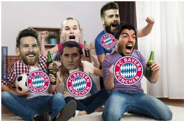 Memes Barcelona-Valencia Liga Española 2018
