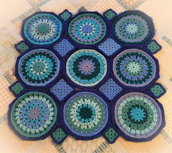 Easy Granny Square And Octagon Motifs