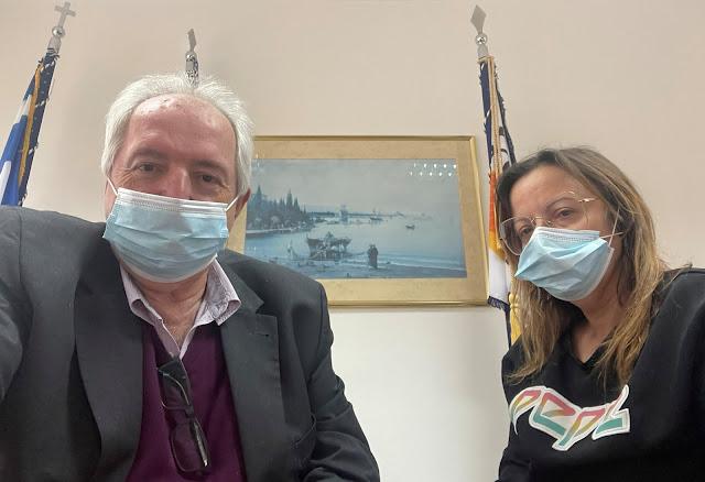 Συνάντηση του προέδρου του Επιμελητηρίου Άρτας με τη νέα συντονίστρια της Ν.Ε. του ΣΥΡΙΖΑ – Προοδευτική Συμμαχία Ν. Άρτας