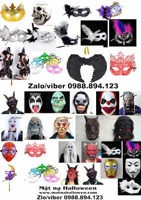 Chuyên cung cấp fgc hàng VINTAGE - Đồ giả cổ - Mô hình chụp hình. mặt nạ haloween