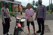 Polisi di Pagimana Kembali Temukan Pengendara Motor Bawa Miras Cap Tikus