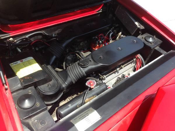 1984 Lamborghini Jalpa Engine