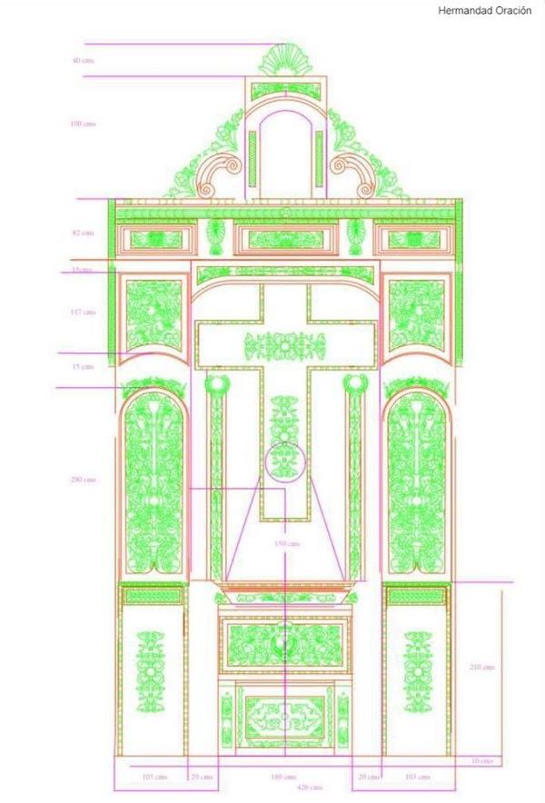 Presentado el proyecto de recuperación del retablo de la Oración en el Huerto de Huelva