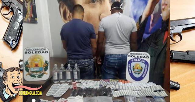 Cinco detenidos por contrabandear medicinas en Anzoátegui