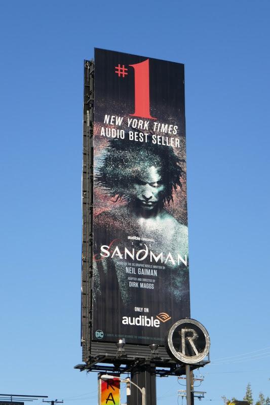 Sandman Audible billboard