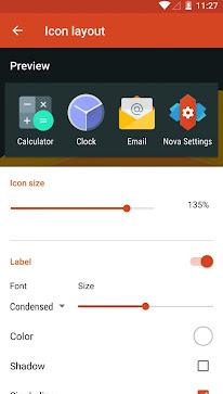 mengganti icon aplikasi dengan nova launcher