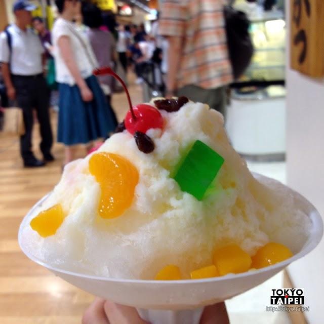 【天文館Mujyaki】可以邊走邊吃的豐盛白熊冰