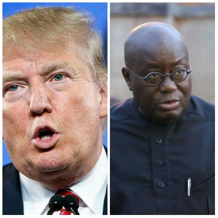 Breaking News!! Donald Trump's Message To Nana Addo Shakes The World