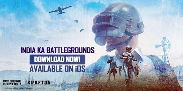تحميل لعبة ببجي الهندية Battlegrounds Mobile India للايفون