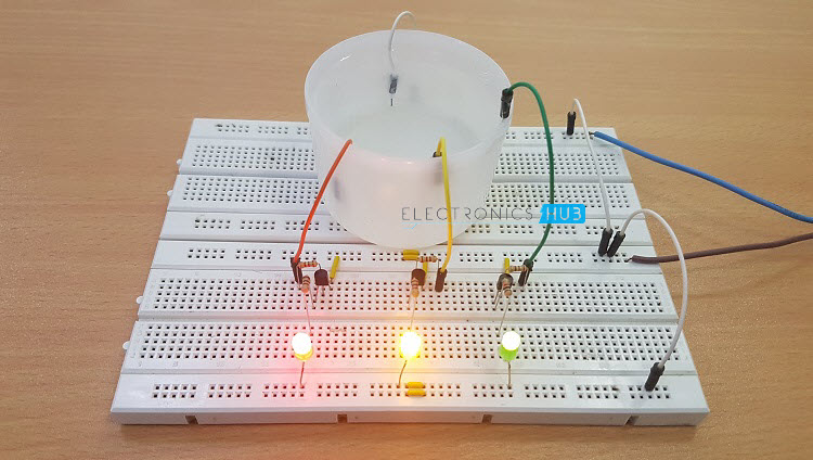 Electro Solvers Simple Water Level Indicator With Alarm Tested