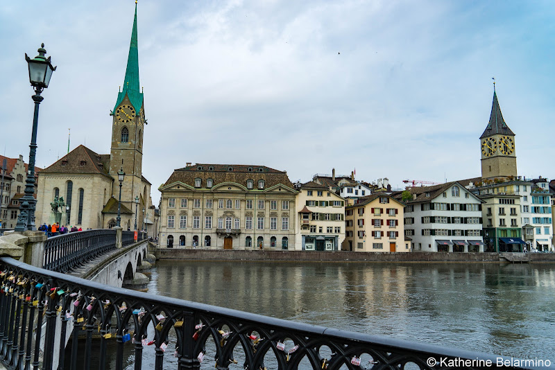 Churches on Limmat River What to Do One Day in Zurich