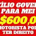 CÂMARA APROVA PROJETO QUE PREVÊ AUXÍLIO DE R$ 600 POR MÊS A TRABALHADOR INFORMAL