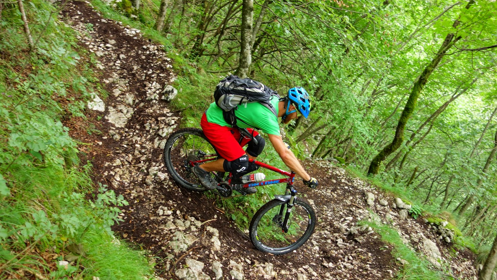 Trail Mountainbike Slowenien