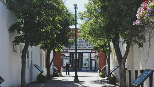 Fort Macleod Main Street Alberta