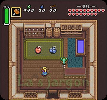La's jargon: 【GBA|SFC】07.黑暗神殿,動物廣場(薩爾達傳說 眾神的三角神力 The Legend of Zelda:A Link to the Past 圖文 ...