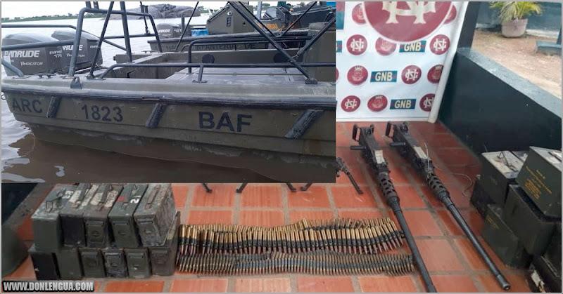 SIGUE EL SHOW | Régimen consiguió tres lanchas de guerra llenas de armamento