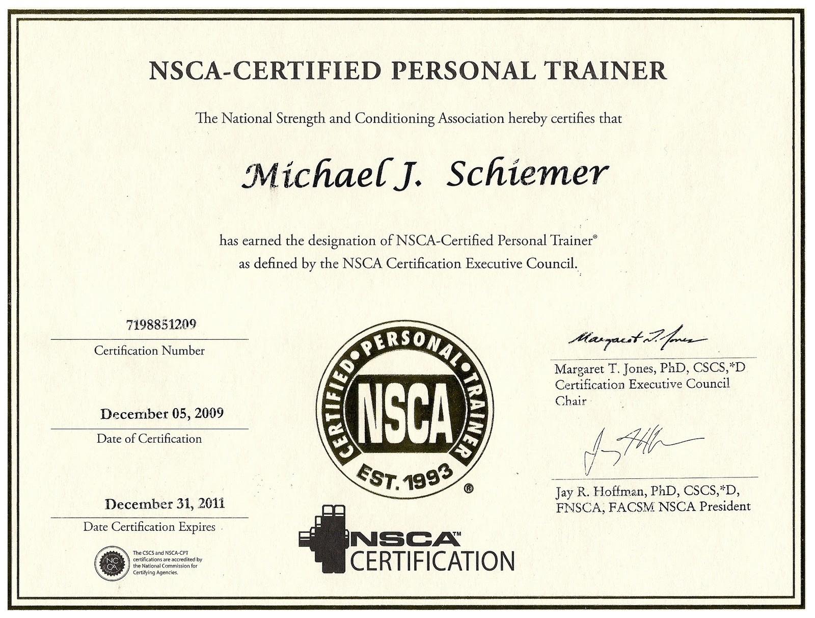 Examples Of Best Certificate Cscs Certification
