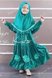 Model Baju Muslim Syar'i Anak Perempuan Modern Terbaru