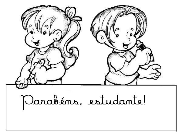 100 Desenhos Para O Dia Do Estudante Espaco Educar