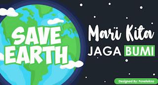 Contoh Desain Gambar Iklan Layanan Masyarakat Tentang Lingkungan